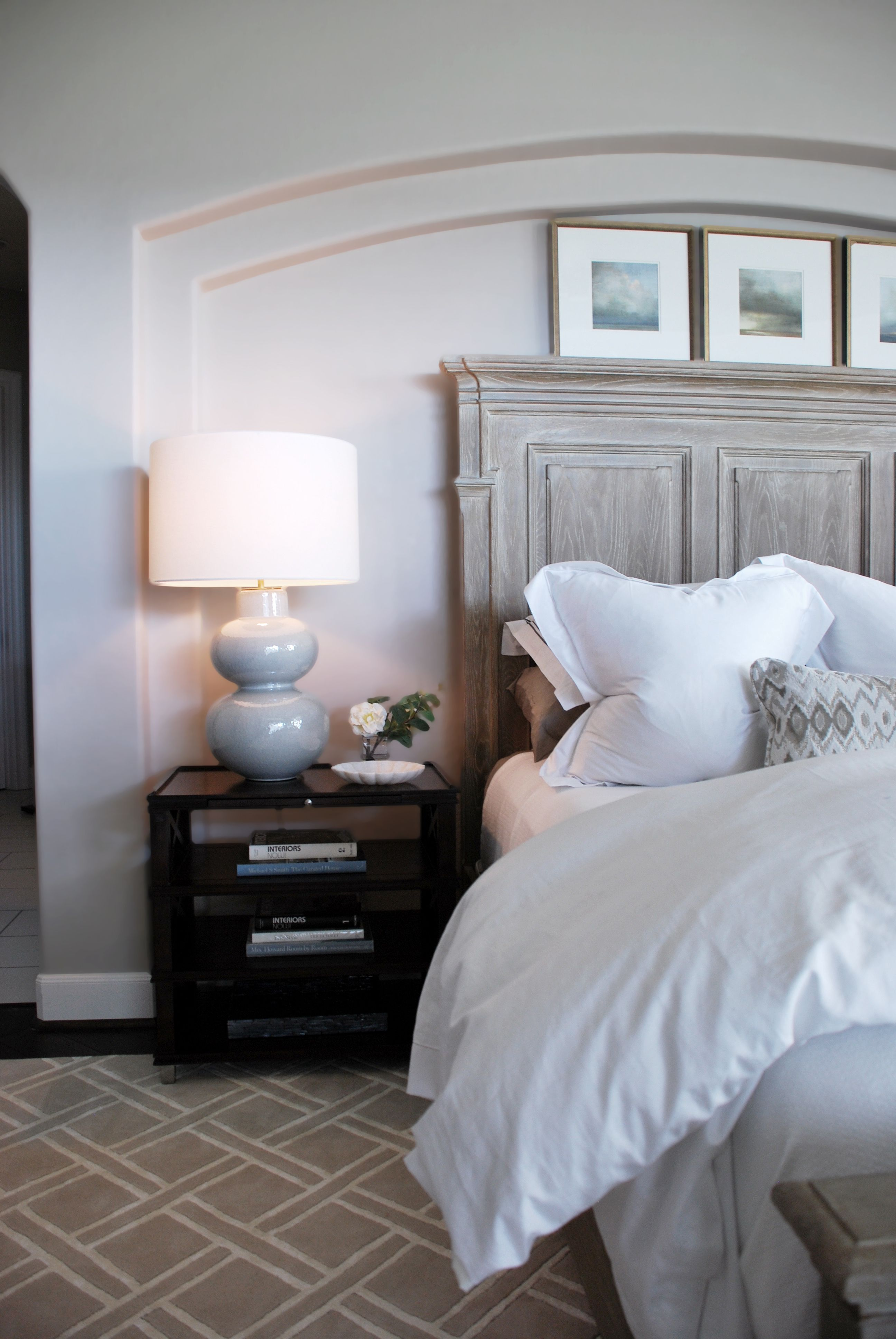 Master Bedroom.  Jennifer Gurley, Gurley Interiors, Houston, TX.