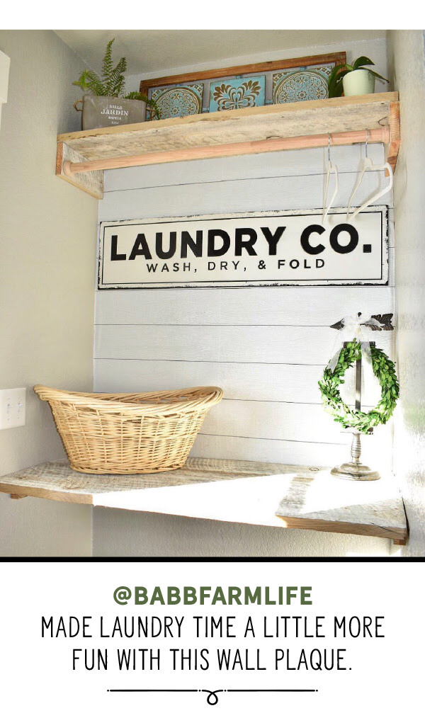 Pin By Nayoon Levitin On Diy With Images Laundry Room Faux Shiplap Wall Plaques