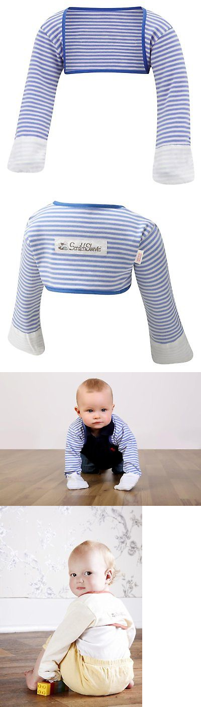 ScratchSleeves Special Edition Boys Stay-On Scratch Mitts Blue