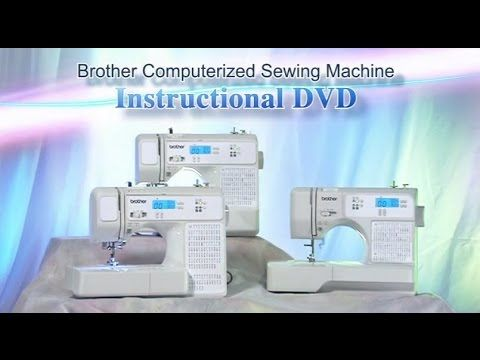 Cp2410 Sq9130 Instructional Video English Computerized Sewing Machine Sewing Machine Instructional Video
