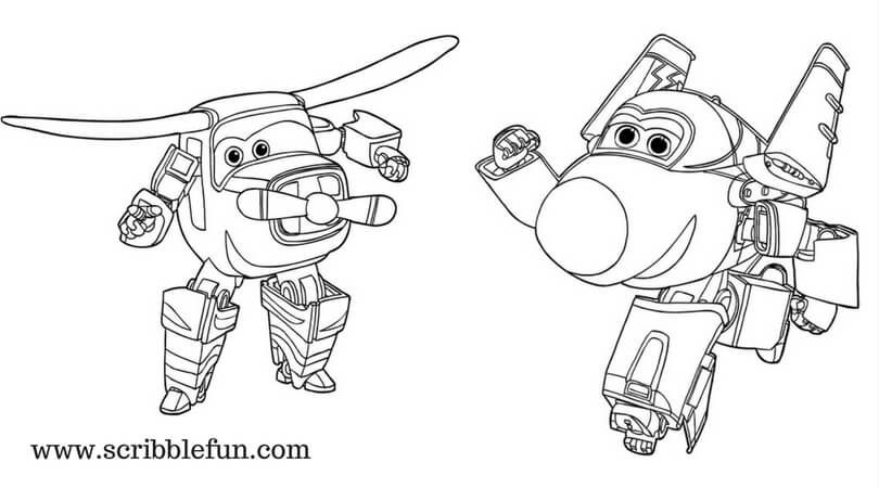 Bello And Jerome Super Wings Coloring Sheets Cartoon Coloring Pages Coloring Pages Online Coloring Pages