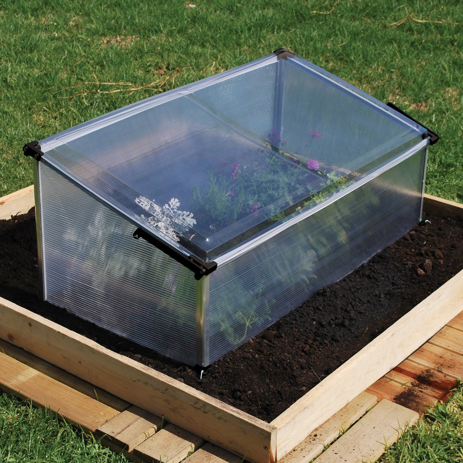 Palram Cold Frame - Additional Features Protects your plants early ...