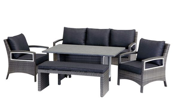 Barbeques Galore   Products   Contempo Low Dining Setting This May Fit In  Our Alfresco