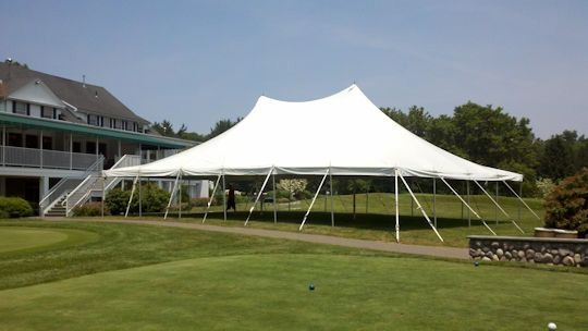 Large Pole Tent For Events Weddings Corporate Parties