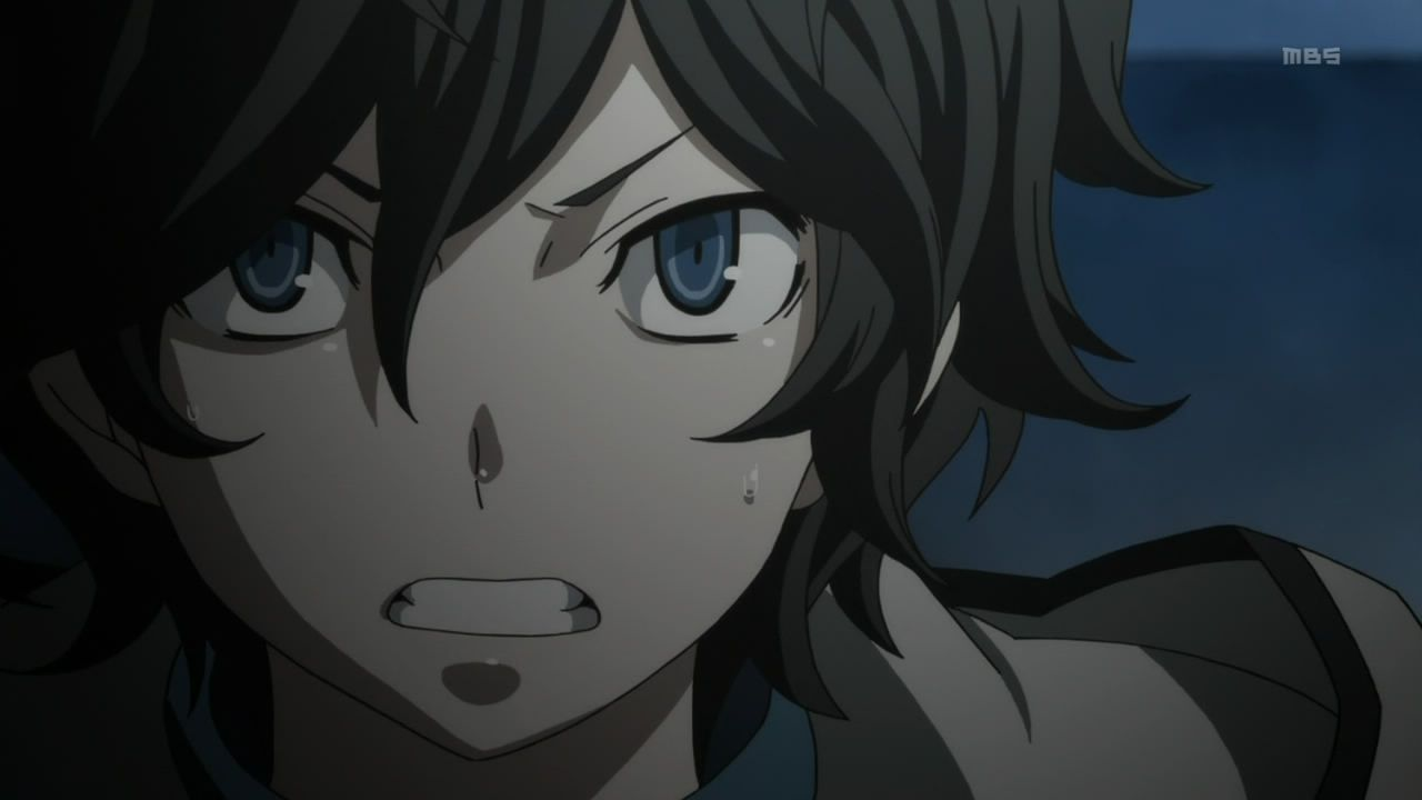 Yellow and blue seem to be dominating colors for Devil Survivor 2, present as saturating overtones throughout the entire episode. Description from avvesione.wordpress.com. I searched for this on bing.com/images