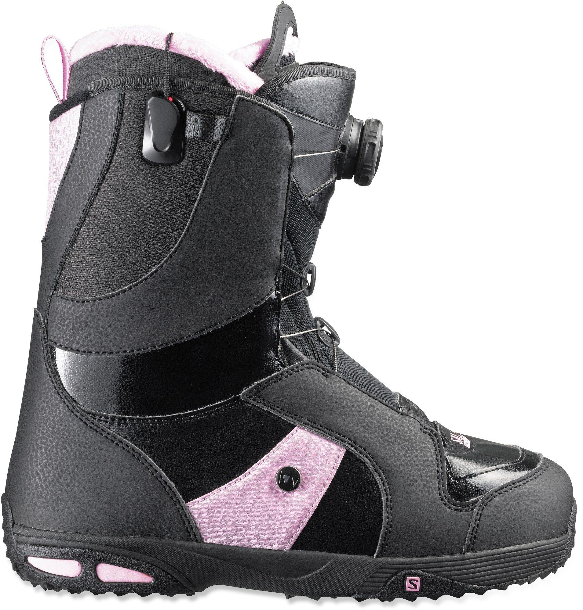 Salomon Female Ivy Boa Str8jkt Snowboard Boots Women S Snowboarding Women Boots Snowboard