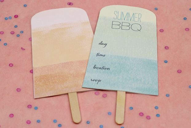 Popsicle Invitation for Summer BBQ\u0027s ☼ Printables Pinterest - summer party invitation template free