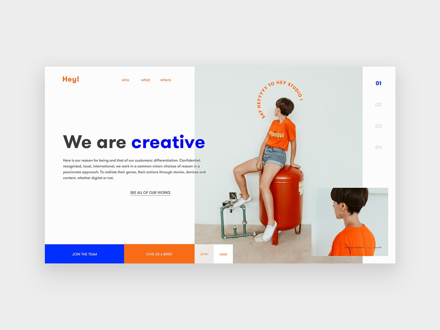 Homepages Experiment On Behance Experiments Web App Design Web Design