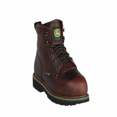 """John Deere 6"""" Steel Toe MET Guard Boots"""