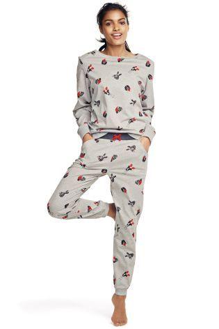 Next Christmas Pyjamas 2019.Buy Grey Christmas Dog Pyjamas From The Next Uk Online Shop