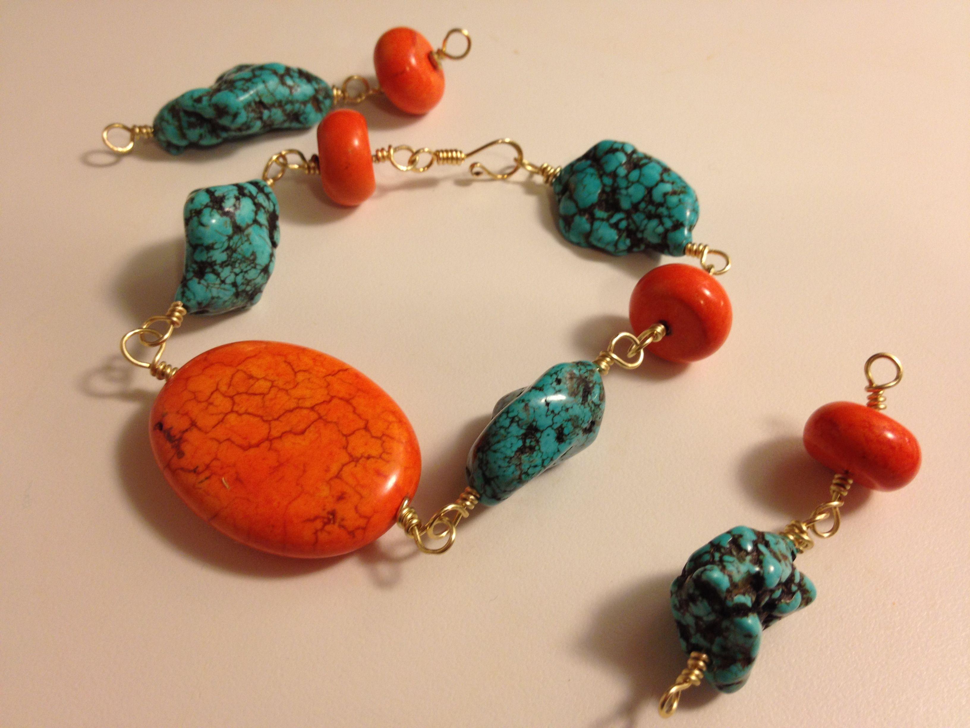 Turquoise Sunbeam (matching set)