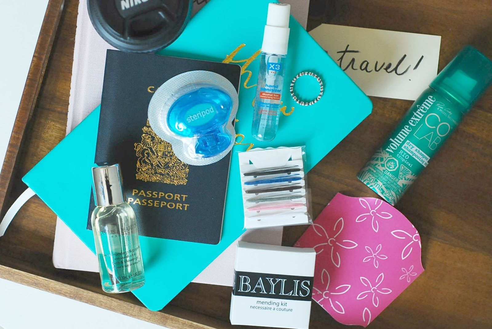 Travel Essentials With Farleyco Travel Essentials Hand