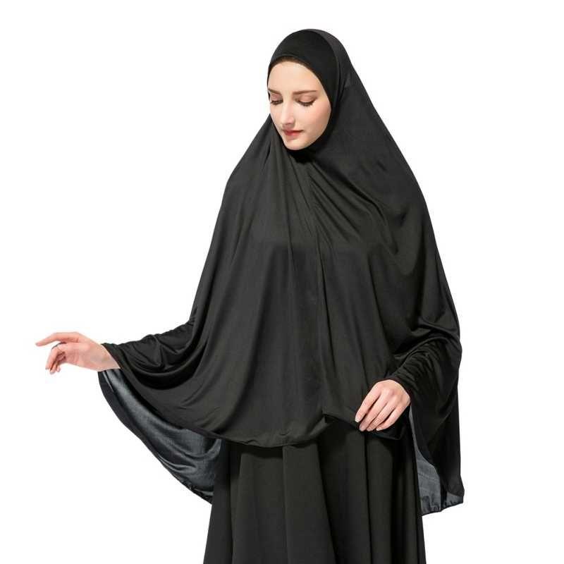 One Piece stretchy Hijab Jilbab Scarf Ready Made Stone Work Girls Adults Muslim