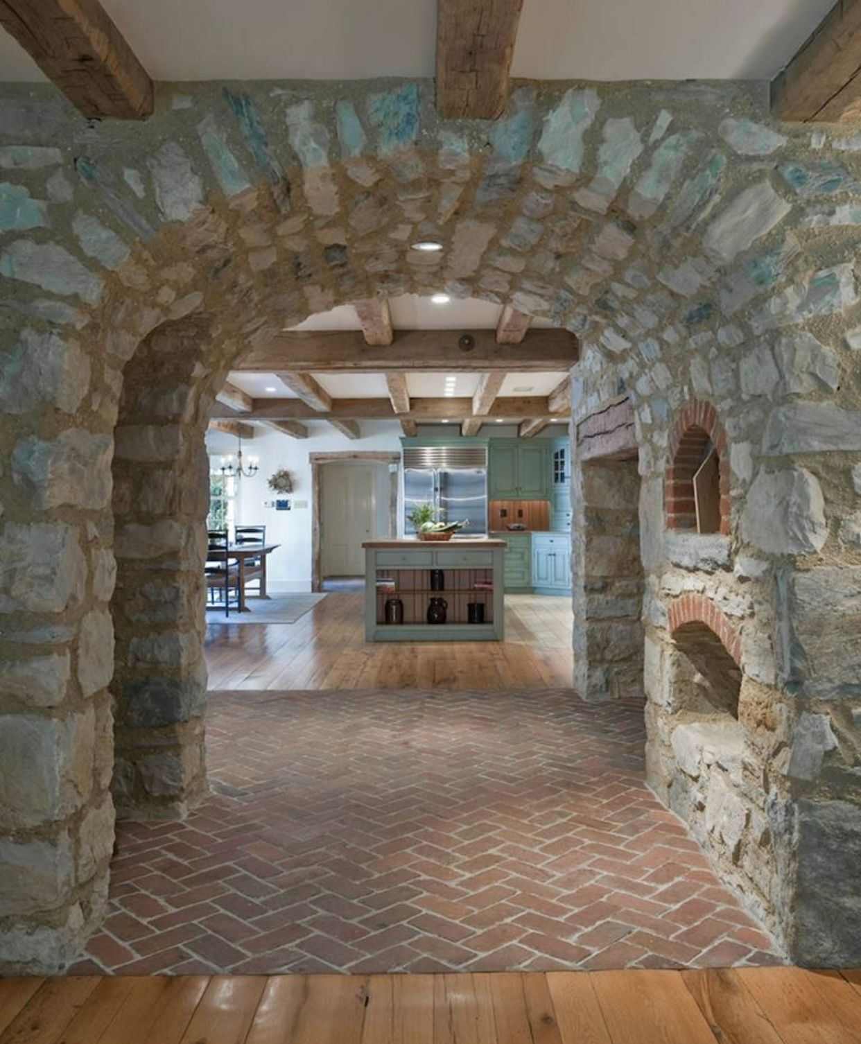 Pin by Michelle Parsons on Inside the home House, Brick