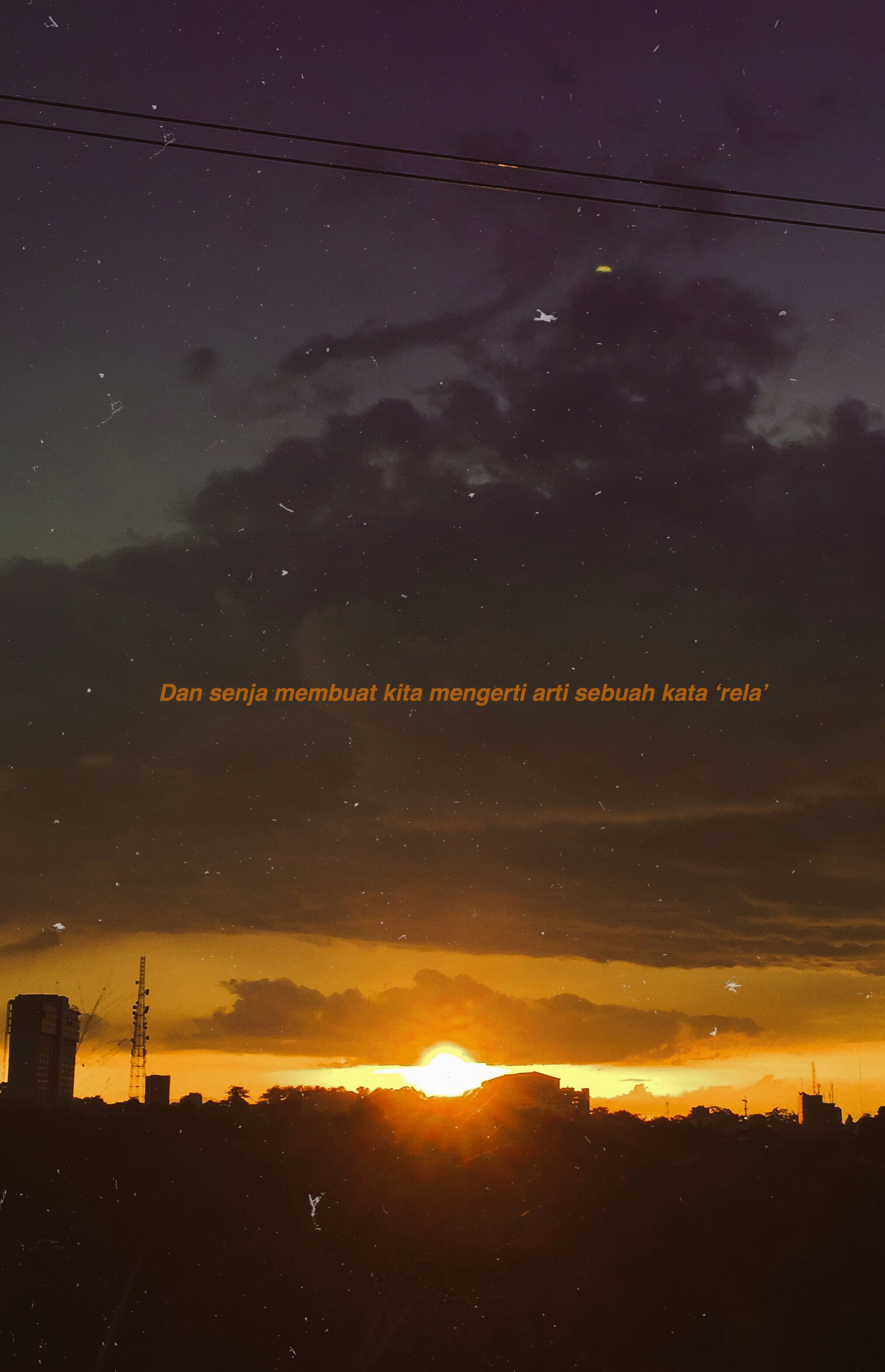 Pin Oleh Elin Mayang Di Senja Quotes Dengan Gambar Kutipan