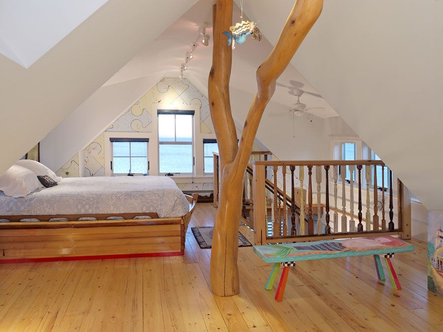 How Cool Is This Cape Cod Bedroom?