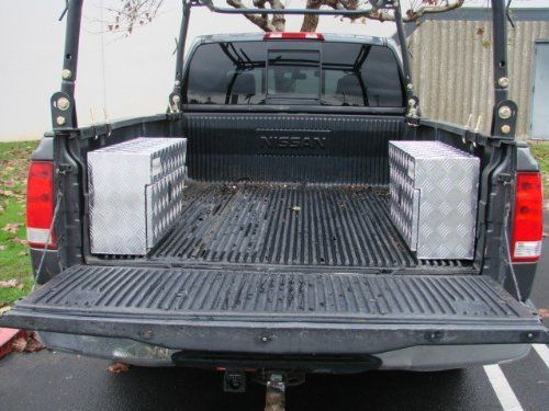 awesome tms 2~aluminum truck pickup trailer rv tool box pork chop