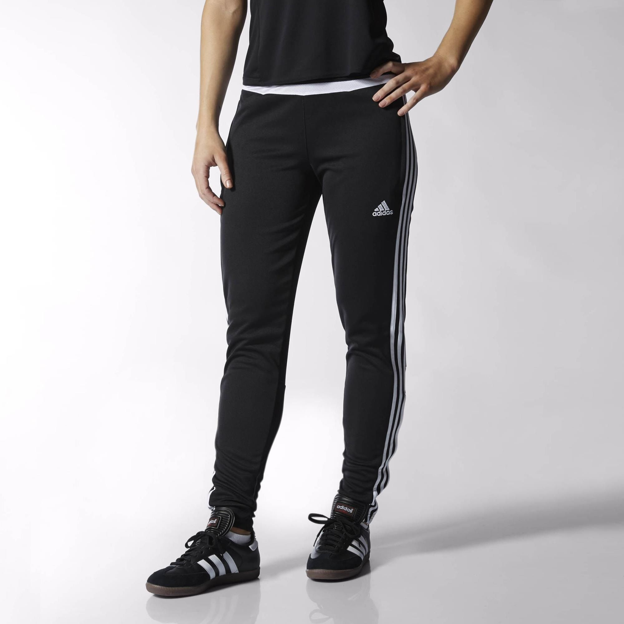 adidas women's performance no fuss pants on the ground