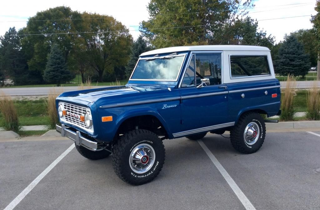 "my favorite Bronco Color ""sky view blue"". I miss my old"