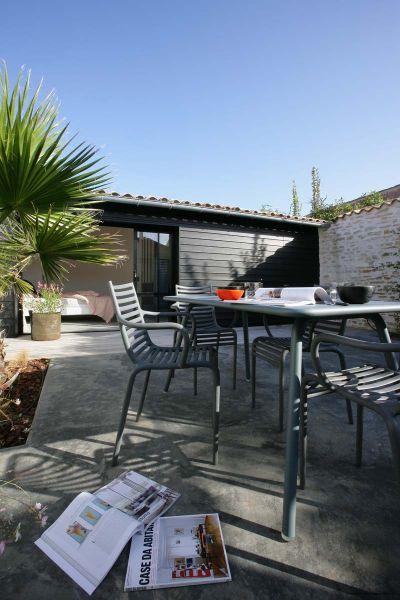 Location ile de Ré  Maison contemporaine rénovée, charme, au coeur - location maison cap ferret avec piscine