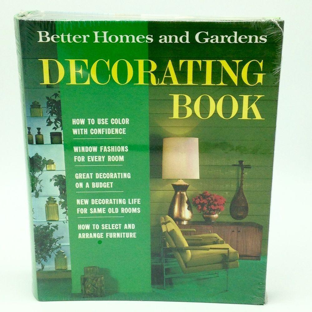 Sealed 1968 Better Homes & Gardens Decorating Book Interior Design ...