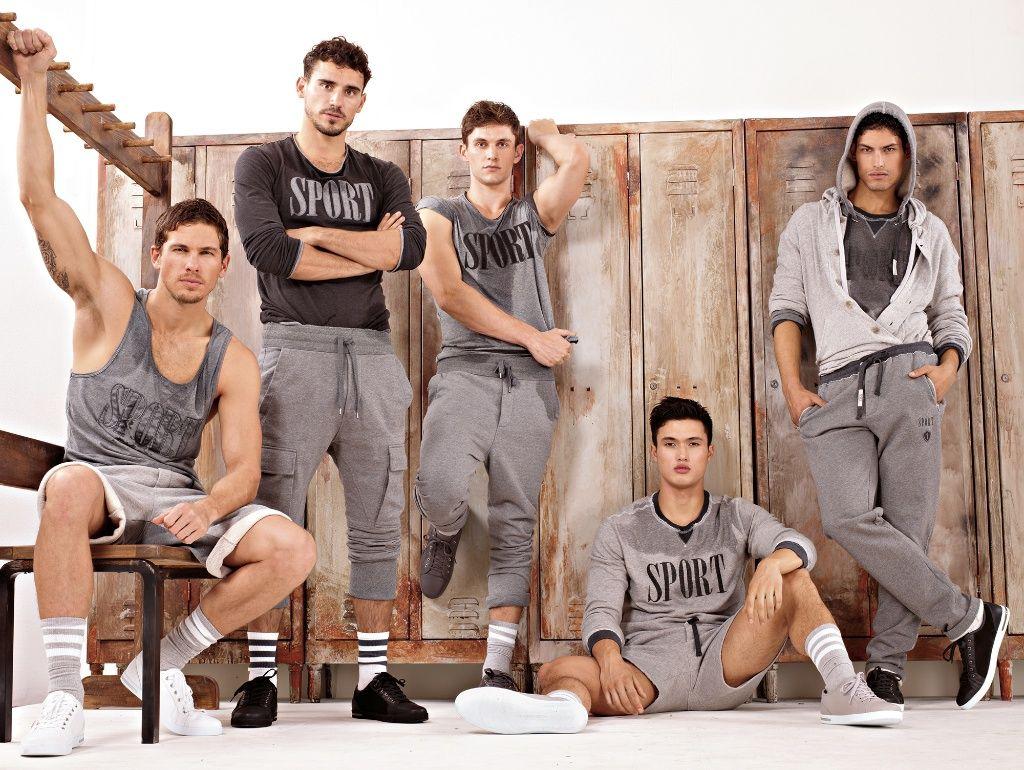 Dolce Gabbana AutumnWinter 2012 Gym Sportswear Men's Lookbook