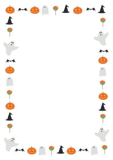 a great halloween themed page border 1 pinte