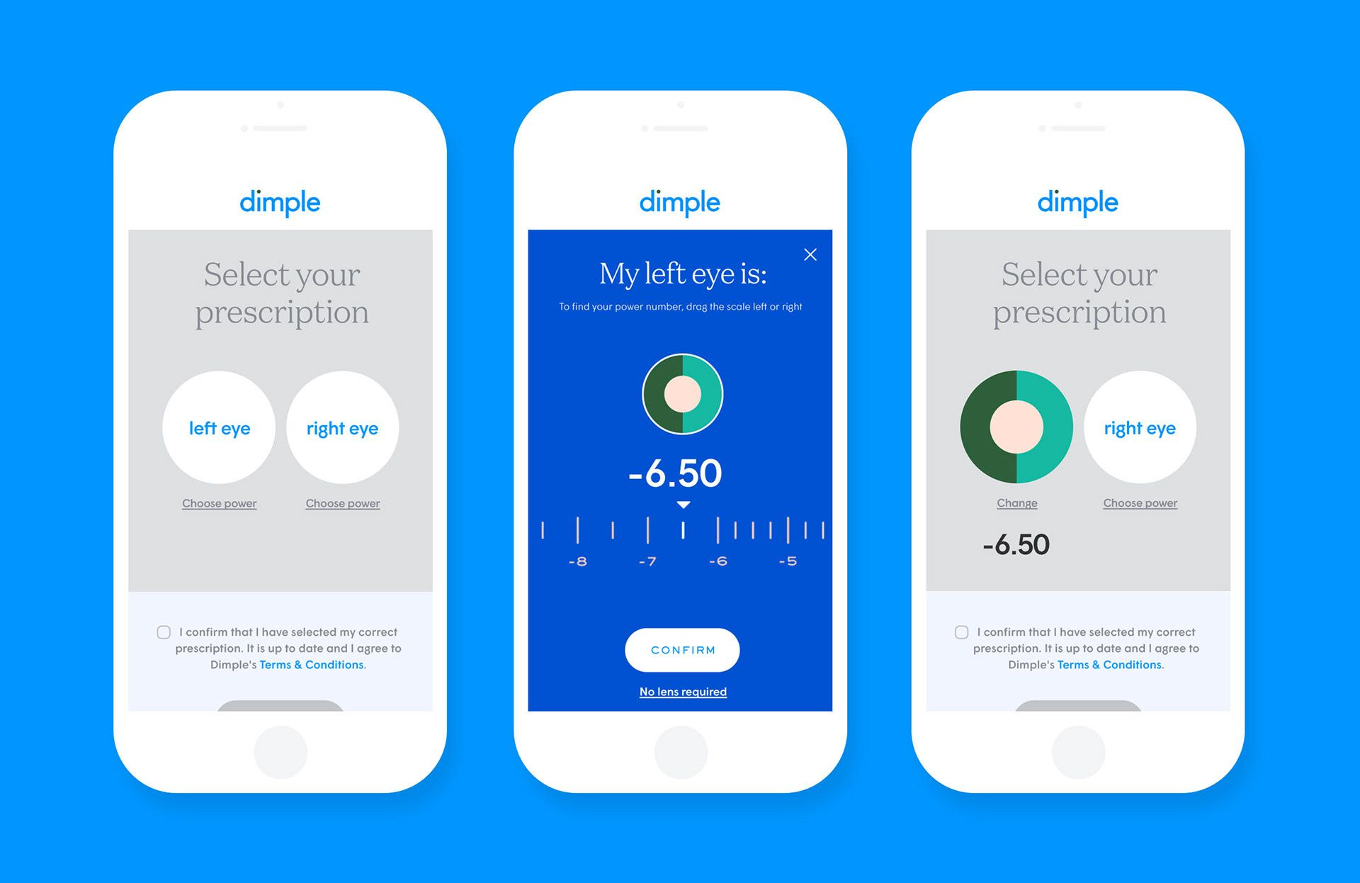 Dimple A clear vision for change on Behance Branding