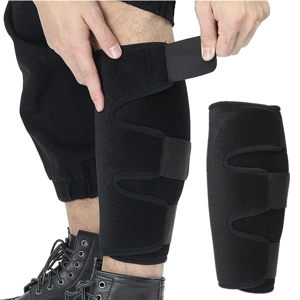 eaabcca1e5 Calf Compression Brace Shin Splint Sleeve Support Lower Leg Wrap Muscle  Pain Relief