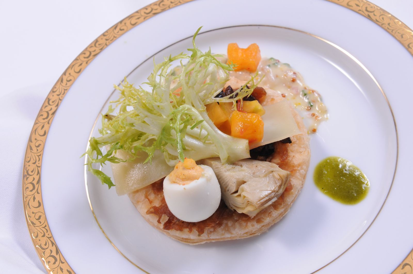 Artichoke Pissaladiere #culinarycapers #food #catering http://www.culinarycapers.com/ Photo: John C. Watson