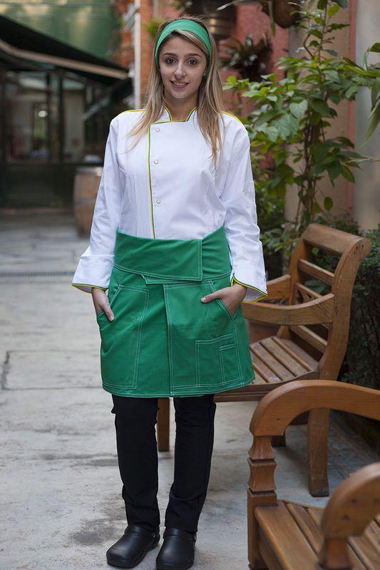 Confira aqui - Dólmã Caiena - Ed. Especial BRASIL - FEMININA - Fashion Chef 4364bb751d5