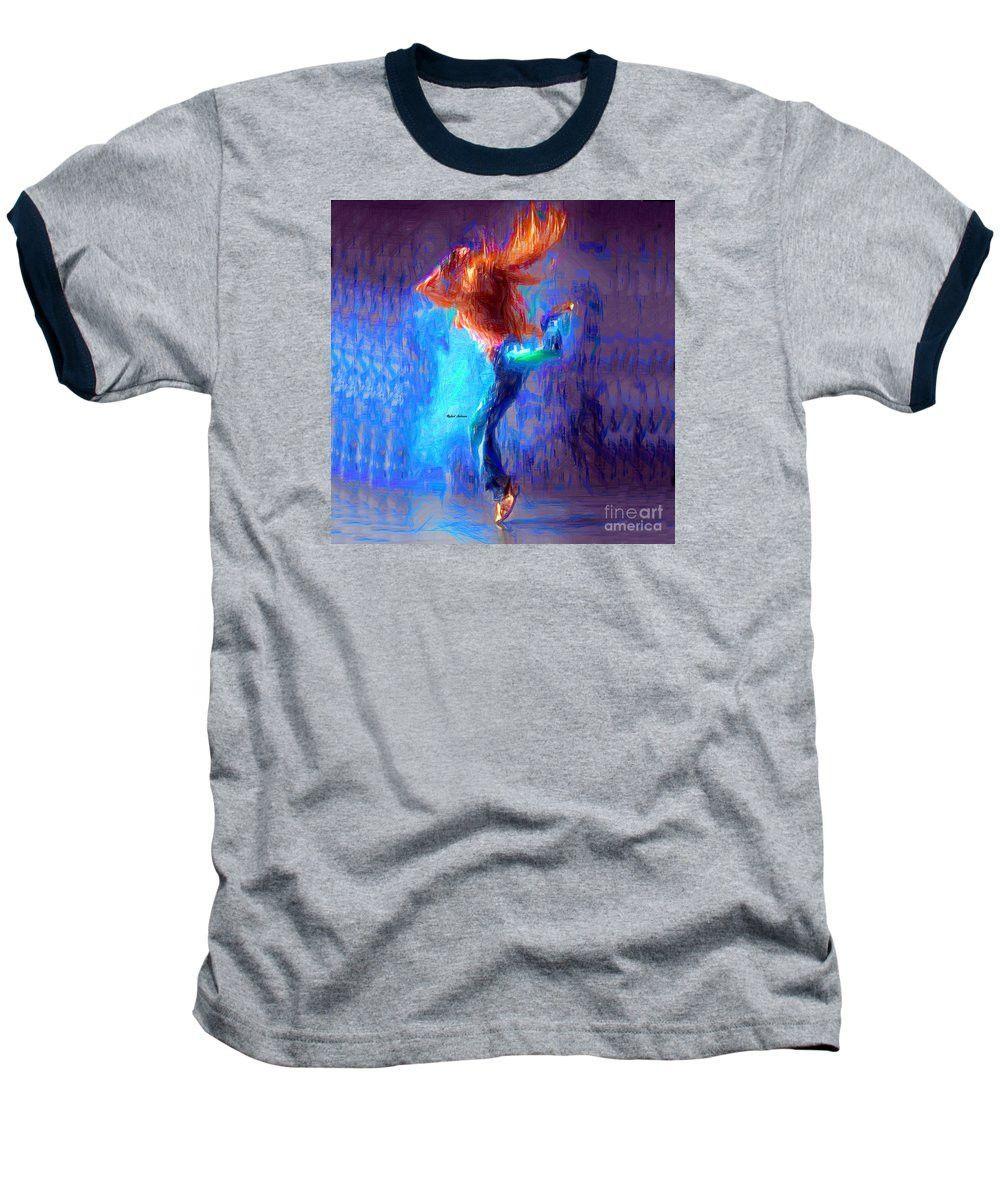 Baseball T-Shirt - Love To Dance