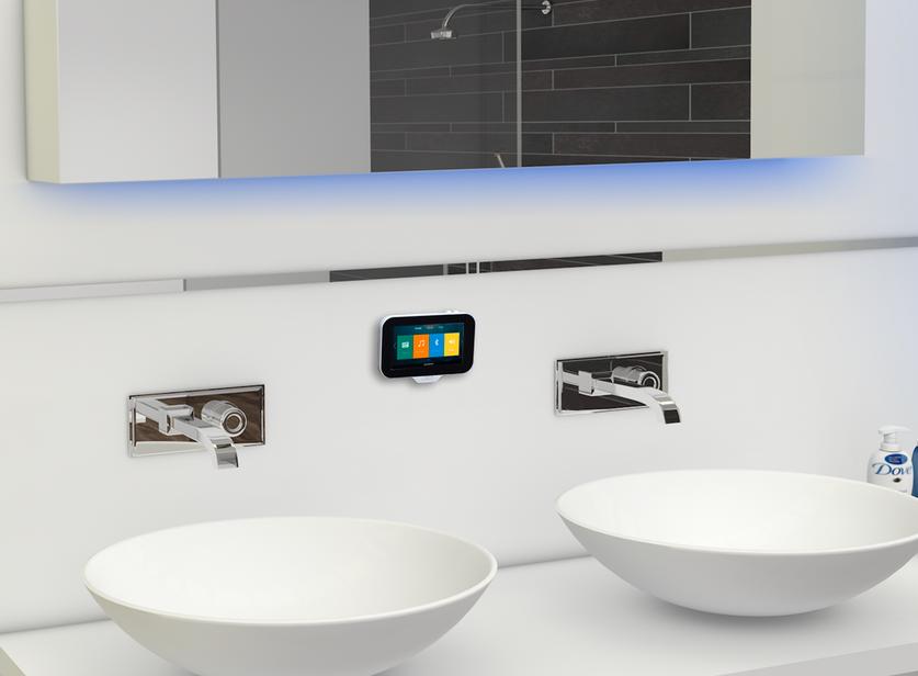 Inbouwradio Voor Badkamer : De aquasound n joy music center is dé inbouwradio voor de badkamer