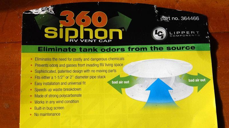 Black Tank Siphon Vent 3 Jpg 800 449 Rv Hacks Rv Living Siphon