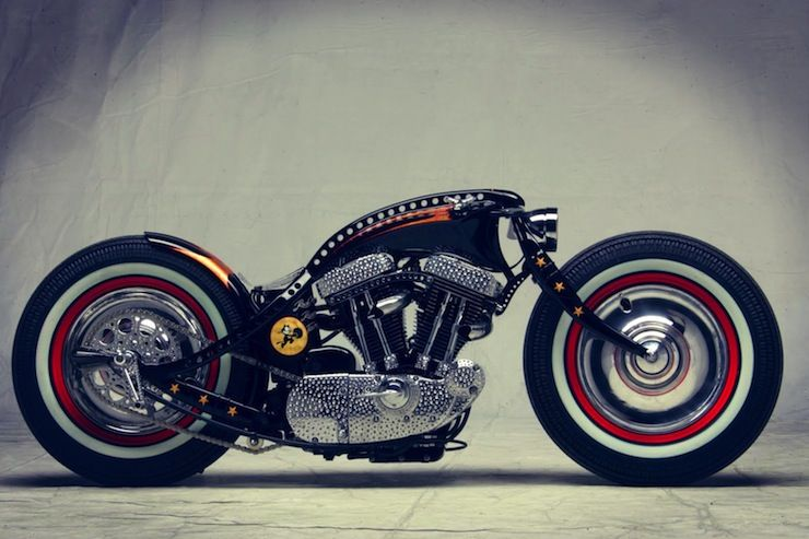 Hot Rod Harley >> Harley Davidson Sportster Custom By Art Of Racer