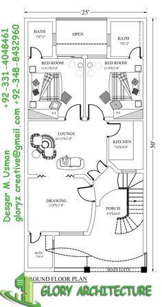 house plan marla plan exemple plans pinterest et map also rh