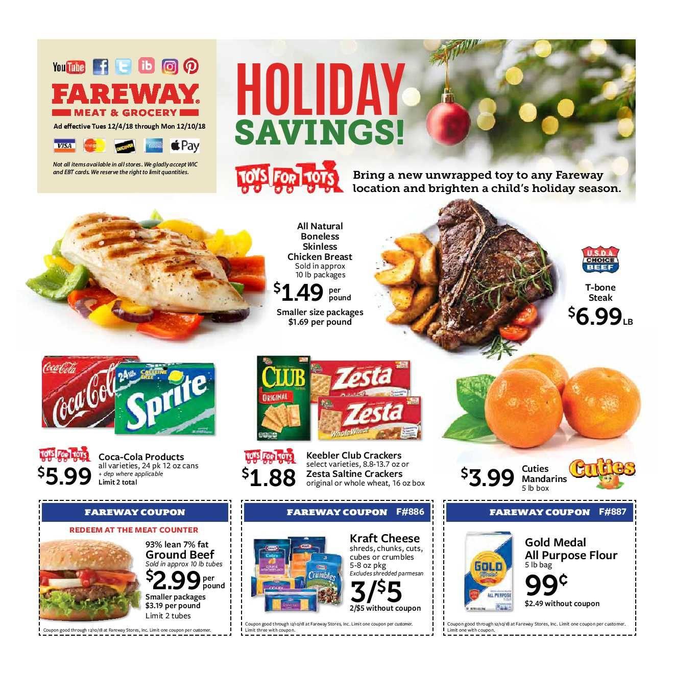 Fareway Weekly Ad Flyer January 15 21 2019 Weeklyad123 Com Weekly Ad Circular Grocery Stores Fareway