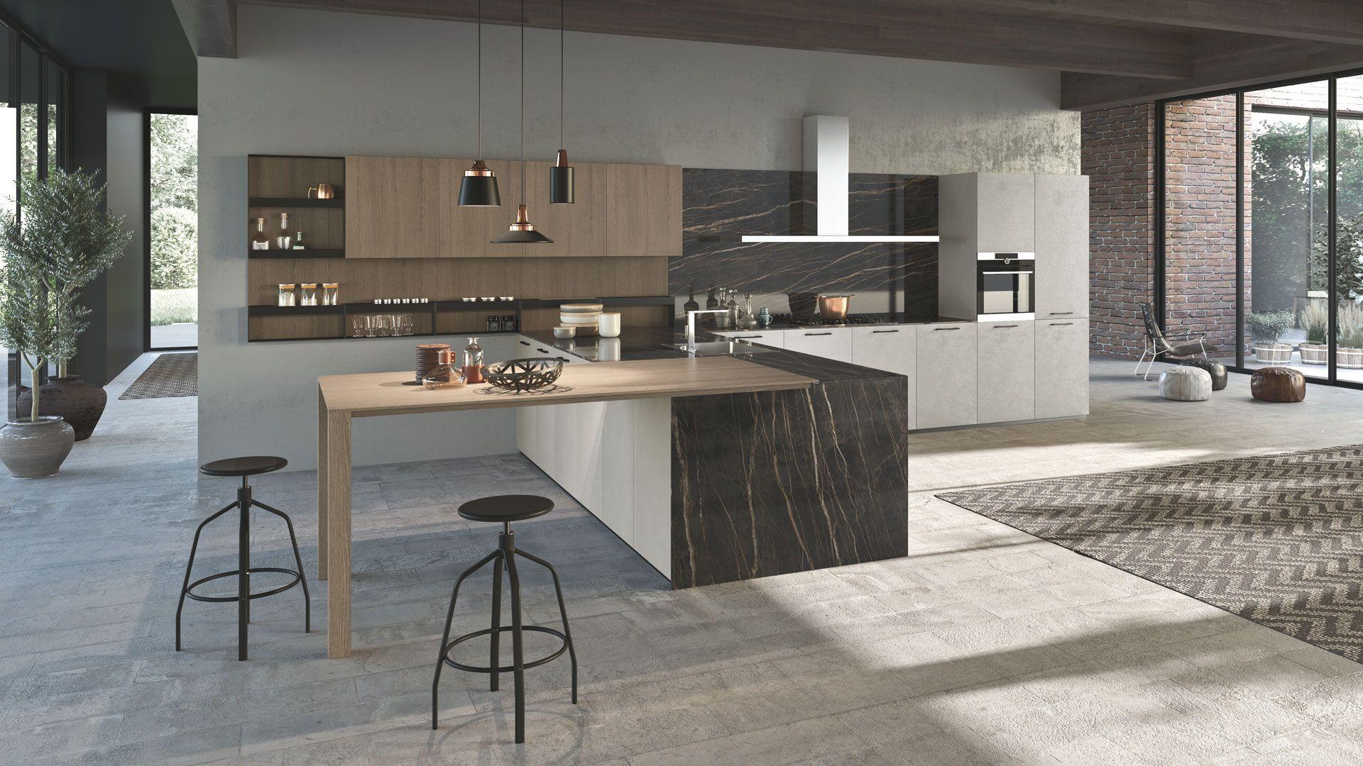 K016 07 Pedini Kitchen Kitchen Design Italian Kitchen