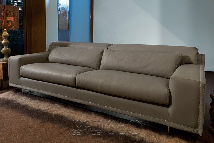 Blues Italian Designer Leather Sofa by Gamma Arredamenti | Sofas ...