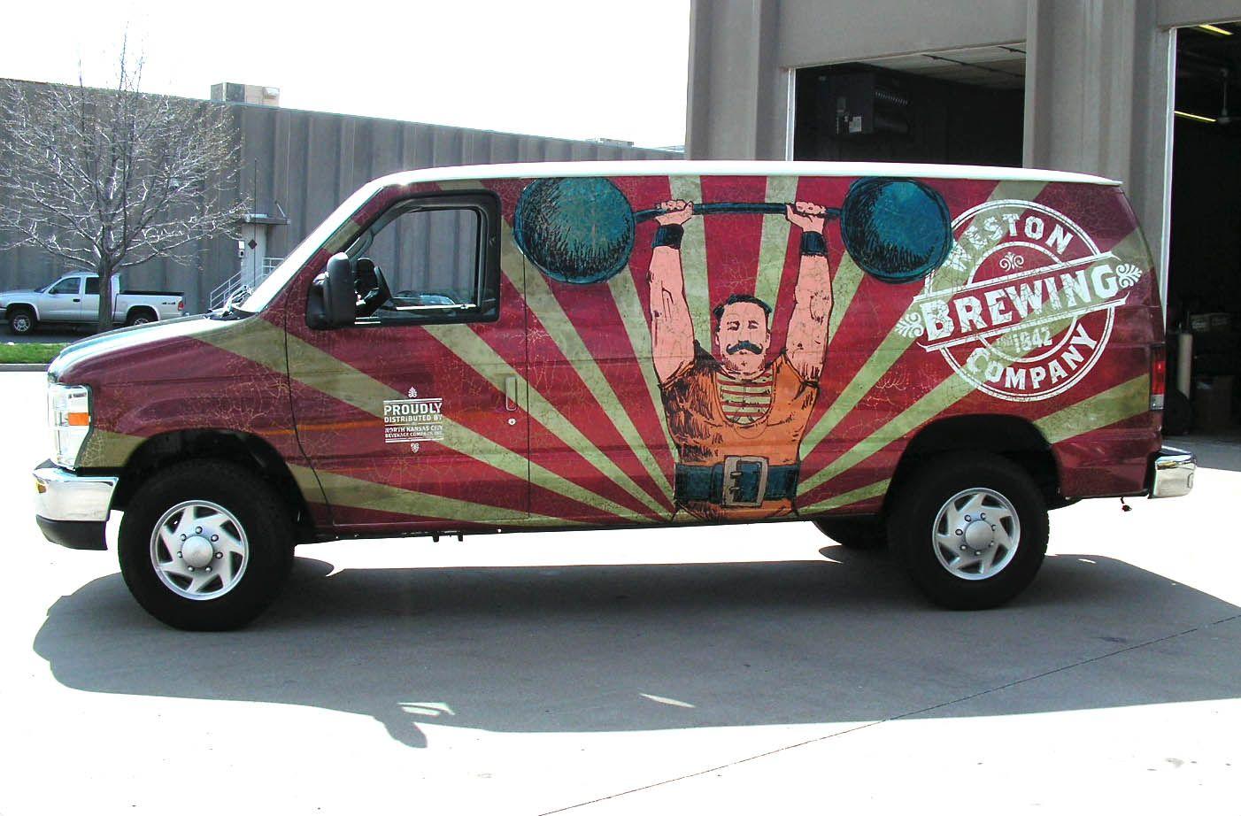 Brewery Van Wrap Van wrap, Car wrap, Vans