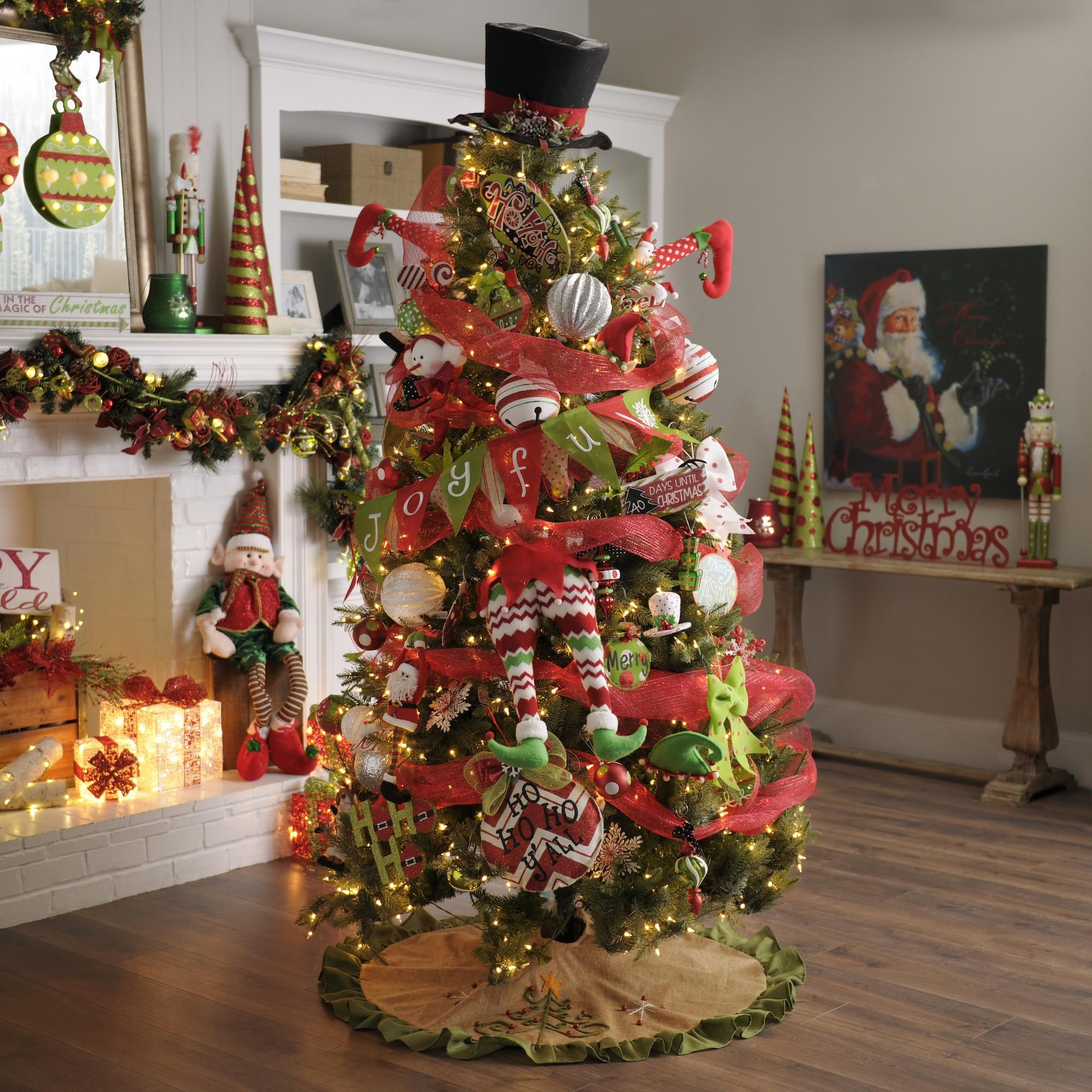 Kirklands Christmas Decorations: Don't Be Afraid Of Vibrant Colors For Christmas! The Holly