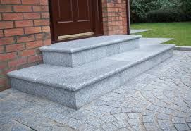Granite Front Door Steps Northern Ireland Front Door Steps Outside Steps Patio Garden Design