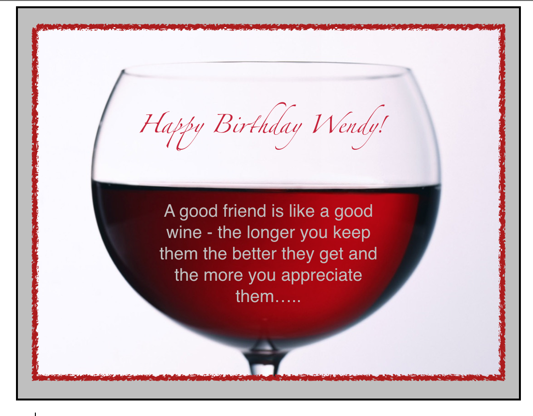 Wendy Birthday 2014 With Images Friends Are Like Stemless