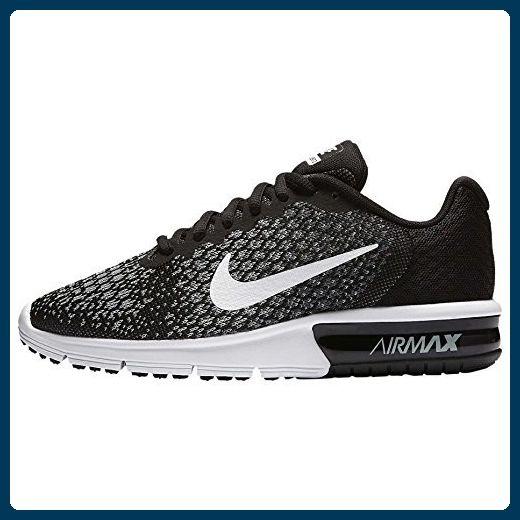 852465 002|Nike Air Max Sequent 2 Laufschuhe Schwarz|40.5 - Sneakers für  frauen