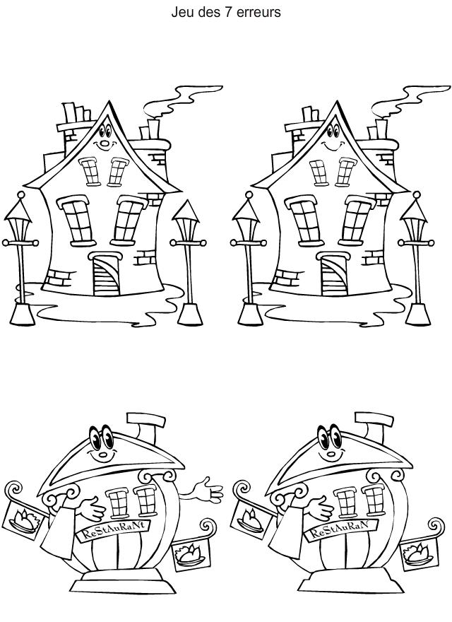 jeu des 7 erreurs imprimer google 39 da ara fark bul pinterest hidden pictures school. Black Bedroom Furniture Sets. Home Design Ideas