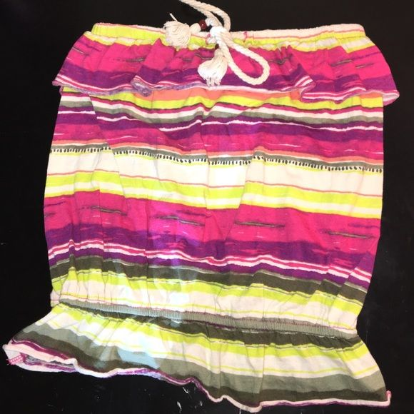0dad0272dbb Striped Arizona Tube Top Great condition and perfect to wear on a summer  day or layer