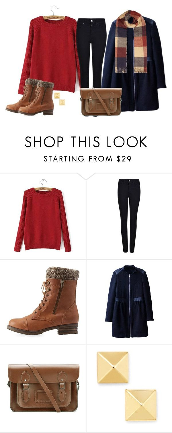"""Ootd#12"" by luludedid on Polyvore featuring mode, Giorgio Armani, Mark & Maddux et The Cambridge Satchel Company"