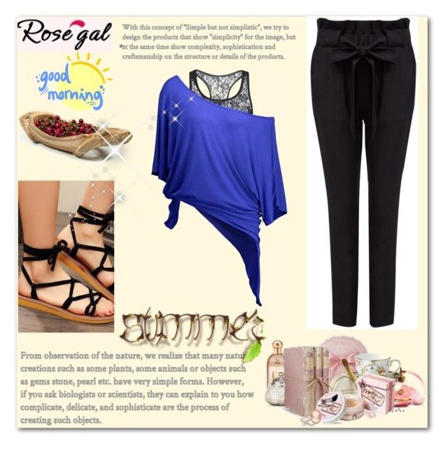 """""""ROSEGAL ......."""" by georgine-d ❤ liked on Polyvore featuring Puji"""