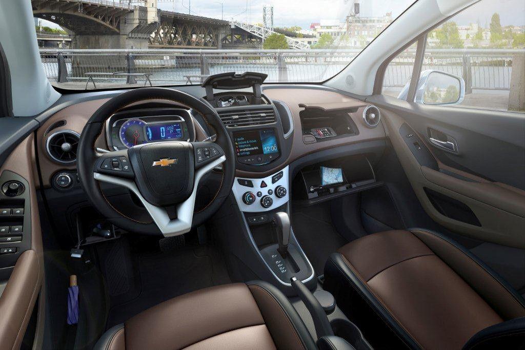2013 Chevrolet Trax Budet Predstavlen Na Avtosalone V Parizhe