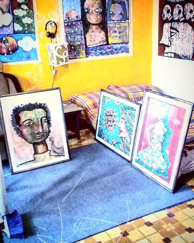 Enmarcado obra para #expo2d5 #arte #obradearte #buyart #cdmx #mexico ...